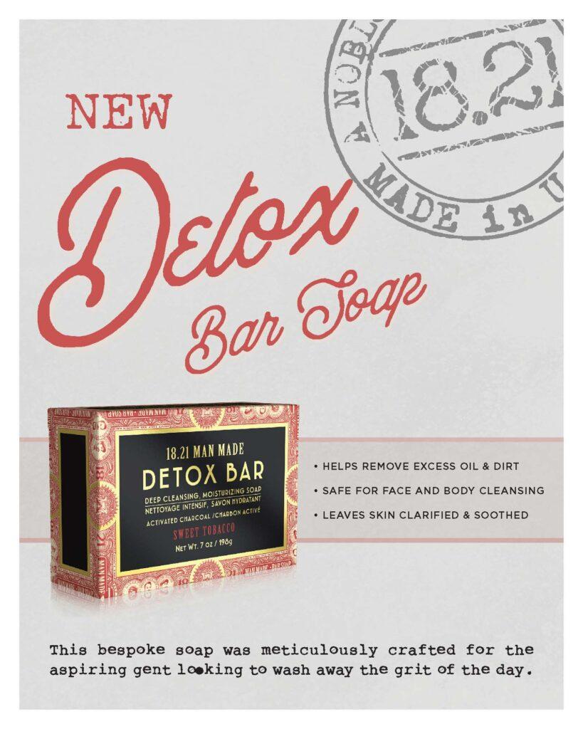 1821 – Detox Bar Soap – Print 8×10