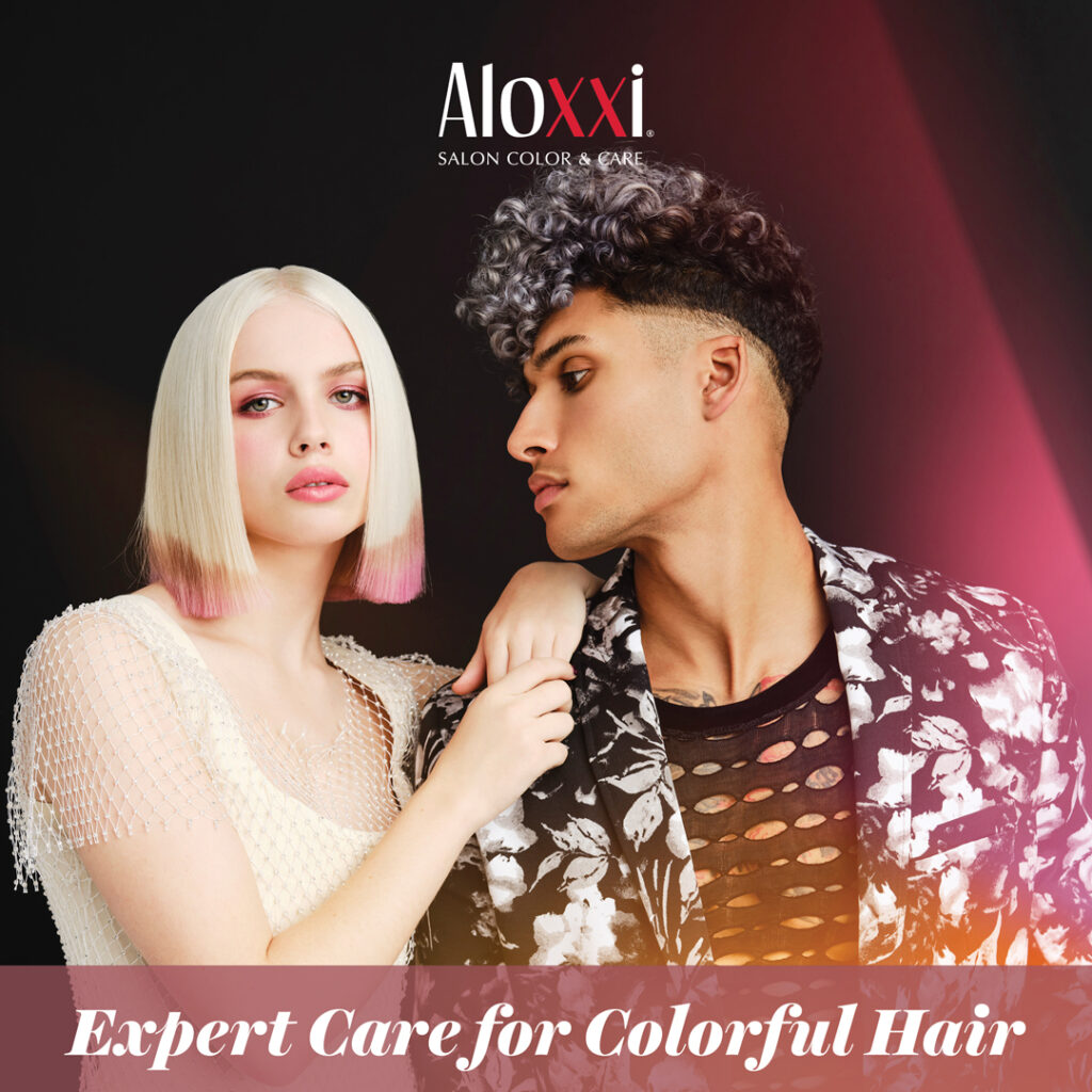 Aloxxi – Exper Care for Colorful Hair – Social