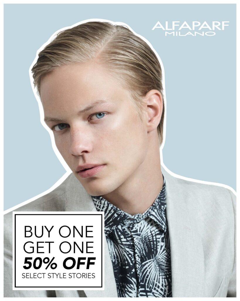 Alfaparf – Style Stories Buy One Get One – Print 8×10