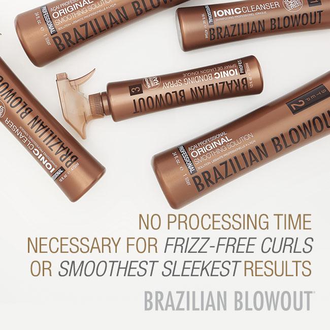 Brazilian Blowout – No Processing Time – Social