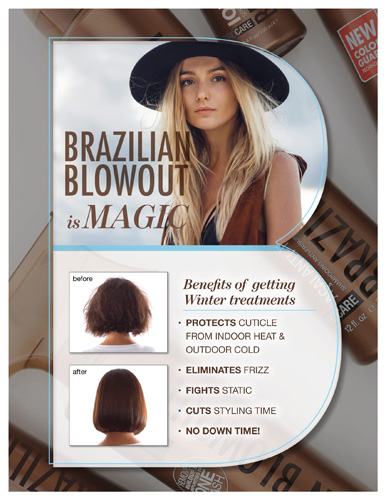 Brazilian Blowout – Treatment Product Knowledge – Print 8.5×11