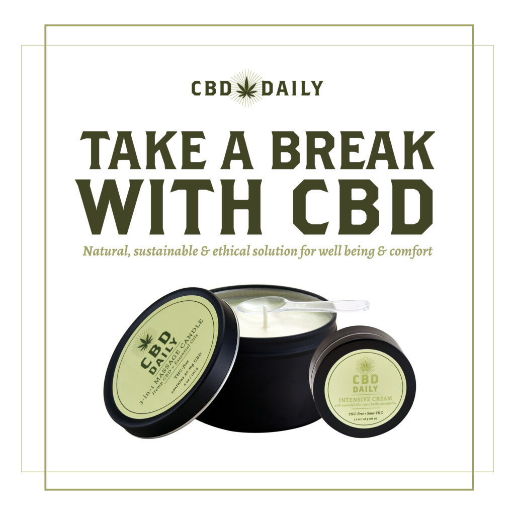 CBD Daily – Take a Break – Social