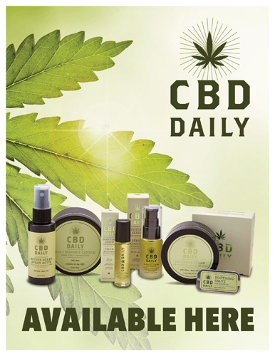CBD Daily – CBD Available Here – Print 8.5×11