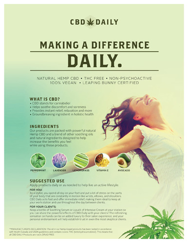 CBD Daily – General Information – Print 8.5×11