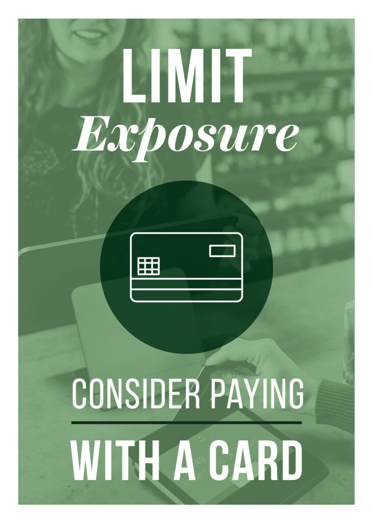 General – Limit Exposure Pay With Card – Print 5×7