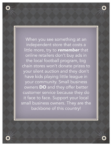 General – Support Small Business – Print 8.5×11