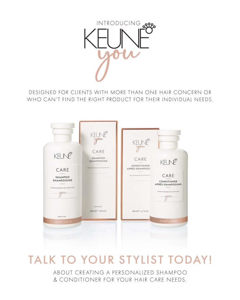 Keune – Keune You Custom Haircare – Print 8×10