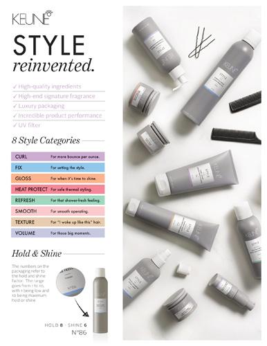 Keune Style – Brand Information – Print 8.5×11