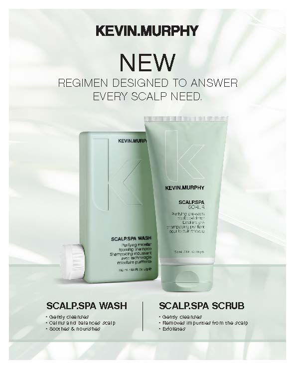 Kevin.Murphy – Scalp.Spa Wash and Scrub – Print 8×10