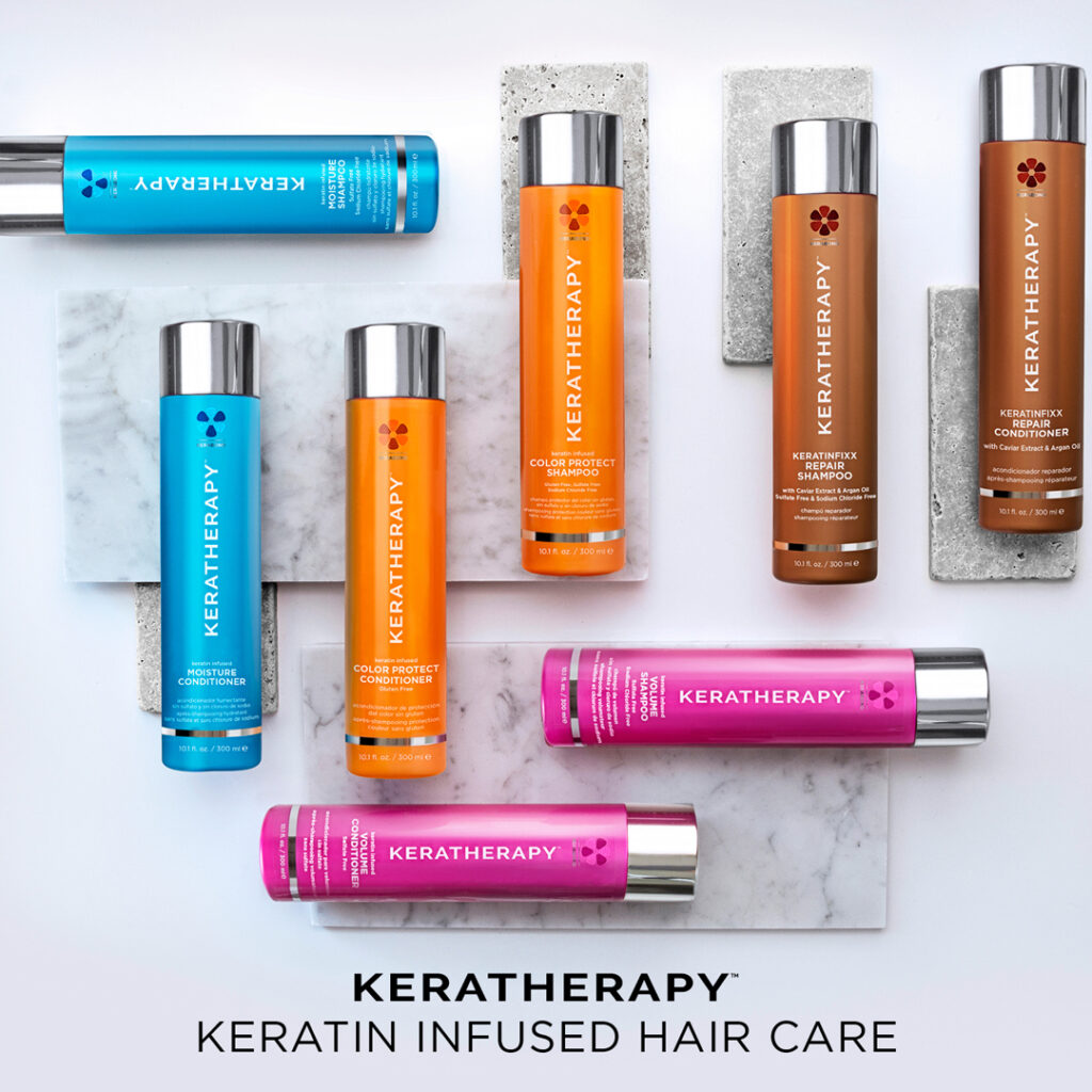 Keratherapy – Shampoo & Conditioner – Social