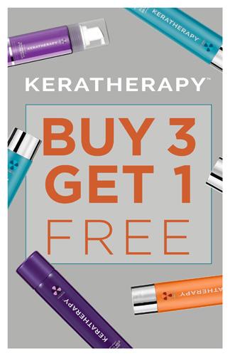 Keratherapy – Buy 3, Get 1 Free – Print 11×17