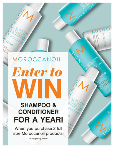 Moroccanoil – Shampoo Conditioner For a Year – Print 8.5×11