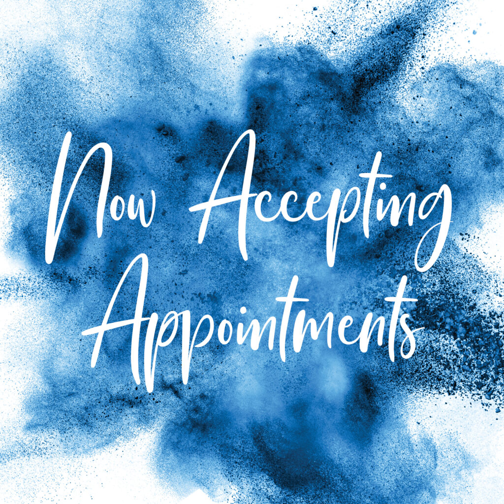 General – Now Accepting Appointments – Social