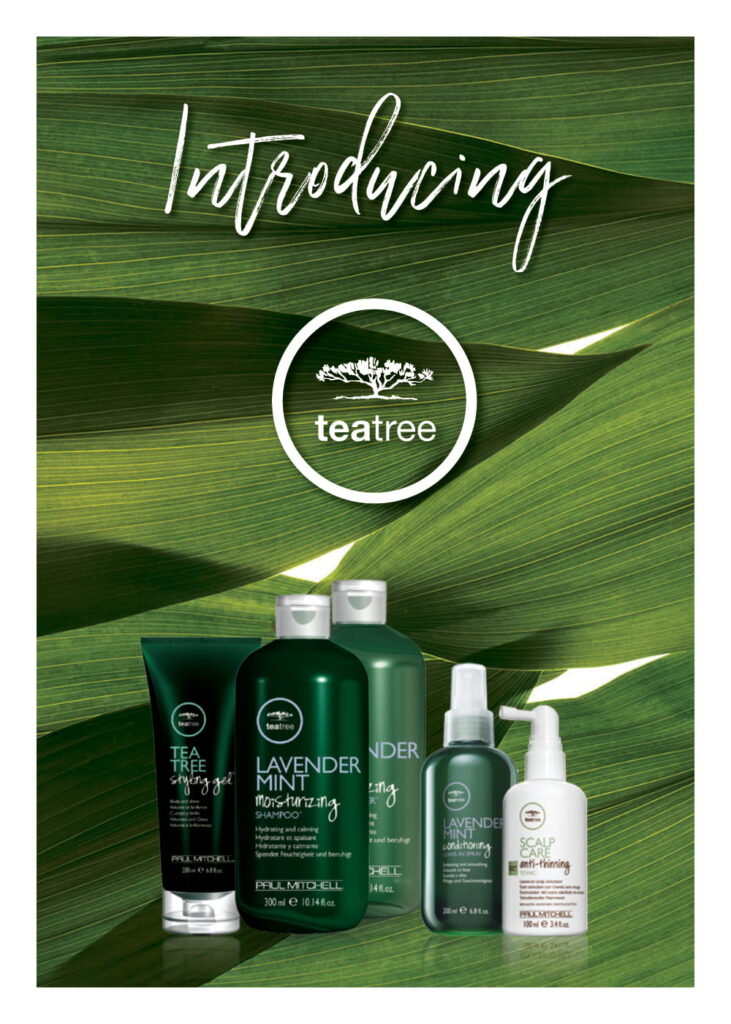 Paul Mitchell Tea Tree – Introducing – Print 5×7″