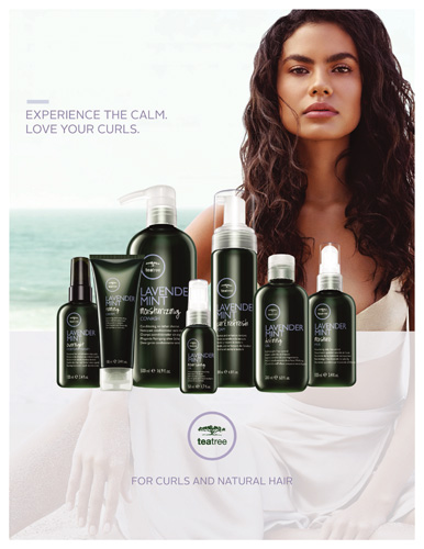 Paul Mitchell – Tea Tree Lavender Mint Collection – Print 8.5×11
