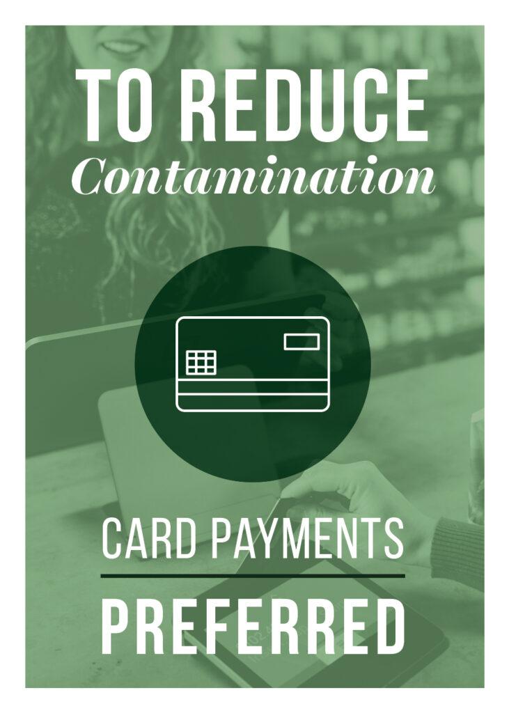 General – Reduce Contamination Use Card – Print 5×7
