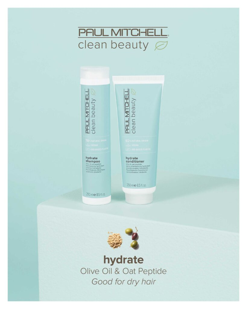 Paul Mitchell Clean Beauty – Hydrate System – Print 8×10″