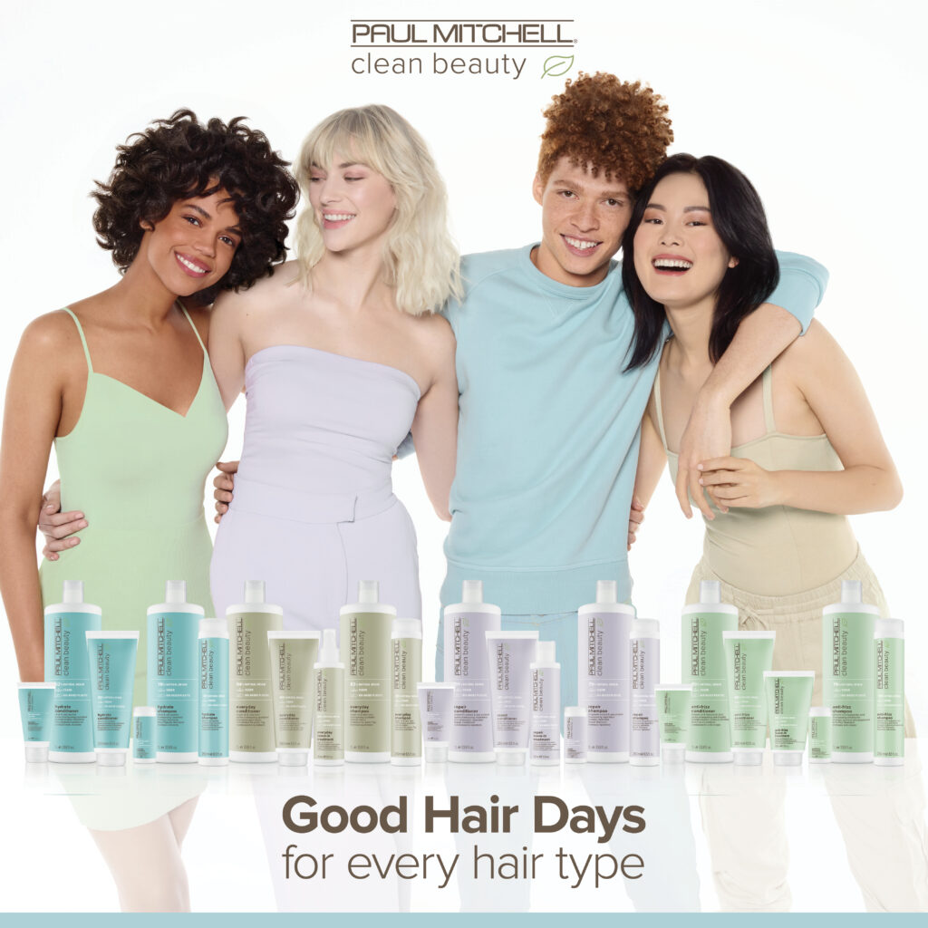 Paul Mitchell Clean Beauty – For Every Hair Type – Social