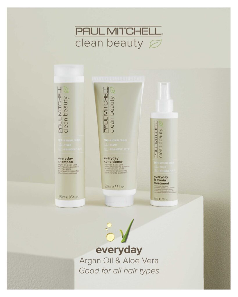 Paul Mitchell Clean Beauty – Everyday System – Print 8×10″