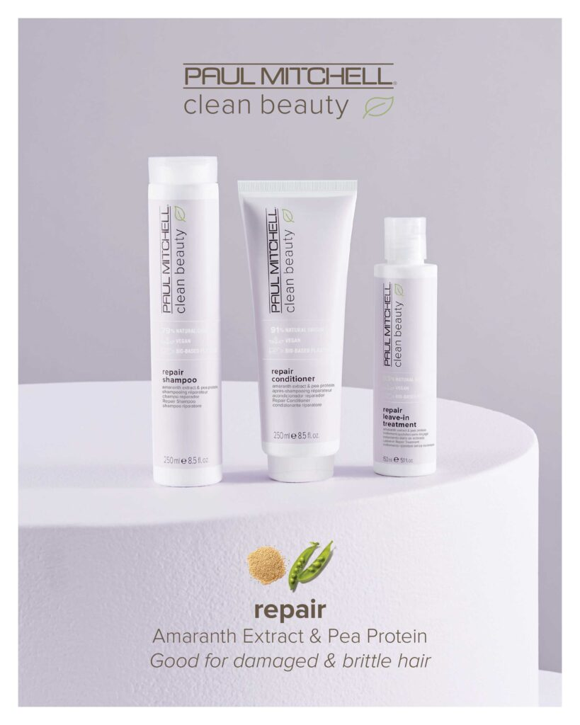 Paul Mitchell Clean Beauty – Repair System – Print 8×10″