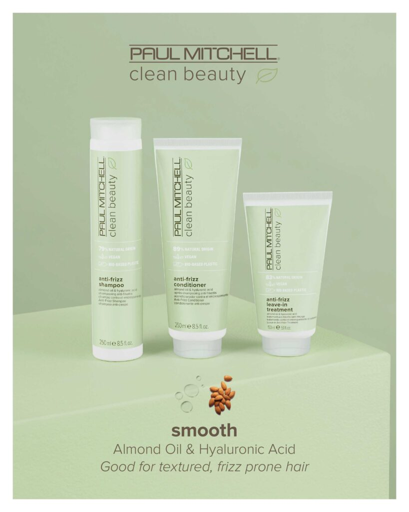 Paul Mitchell Clean Beauty – Smooth System – Print 8×10″