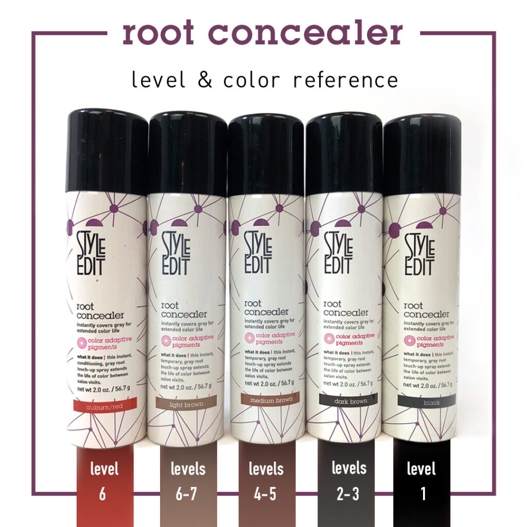 Style Edit – Root Concealer Levels – Social
