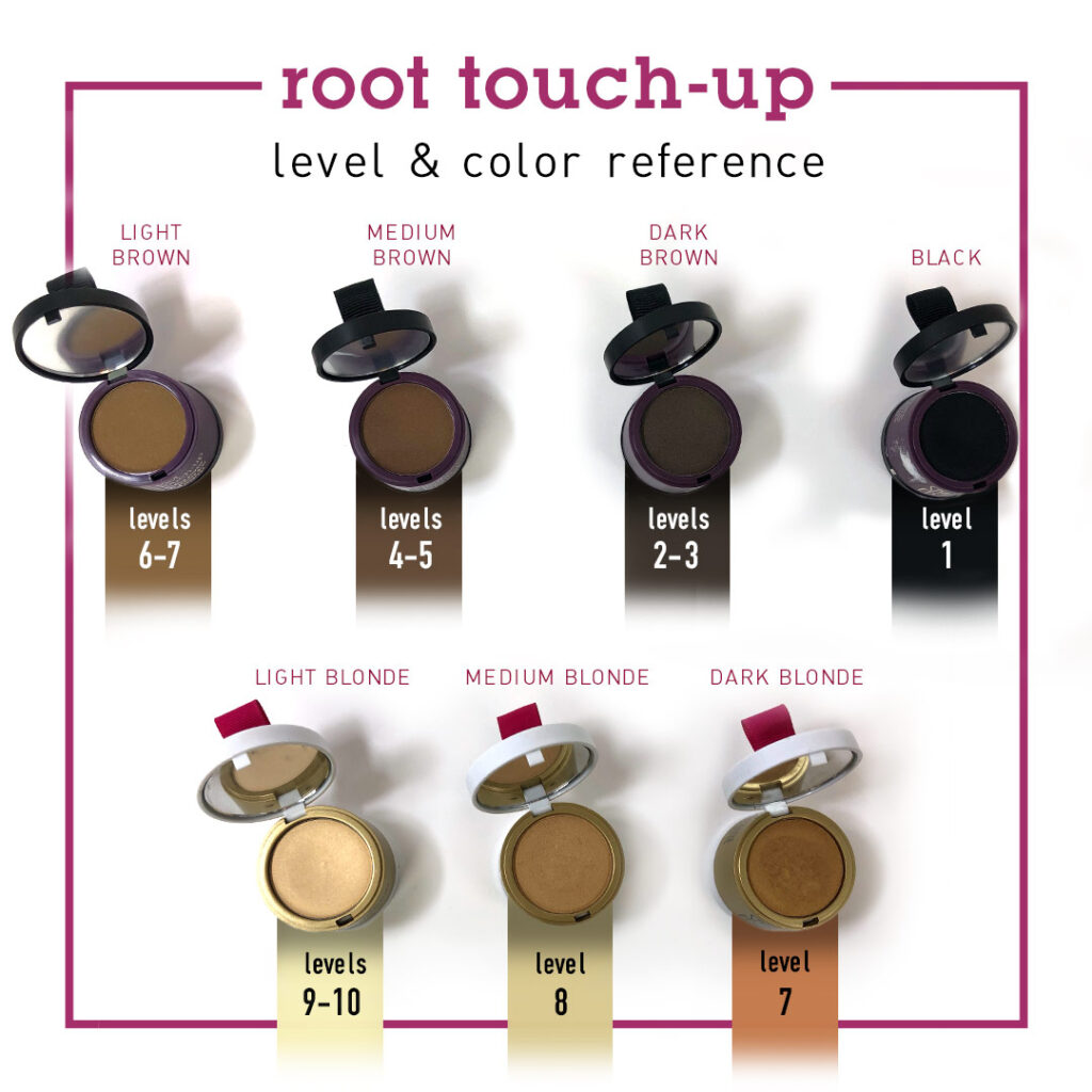 Style Edit – Root Touch Up Color Reference – Social
