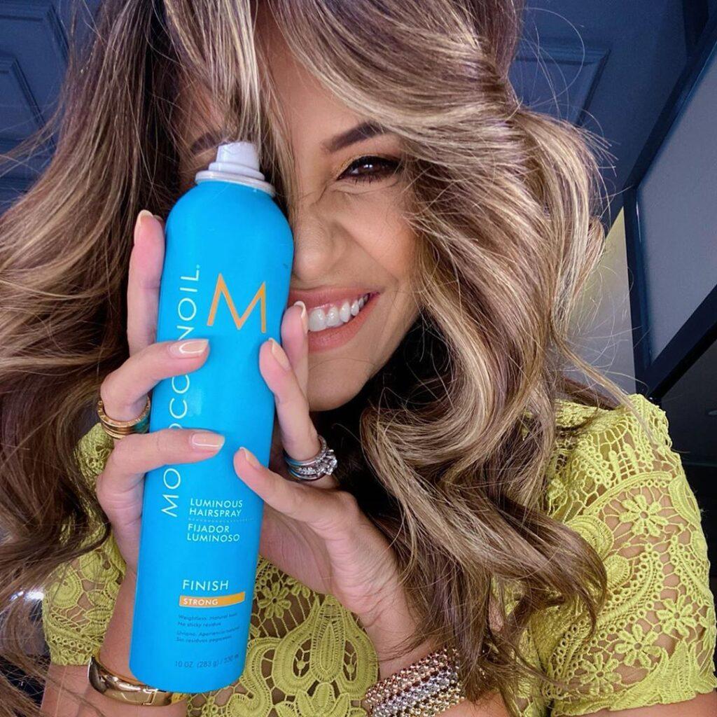 Moroccanoil – Luminous Hairspray @Pamsued – Social