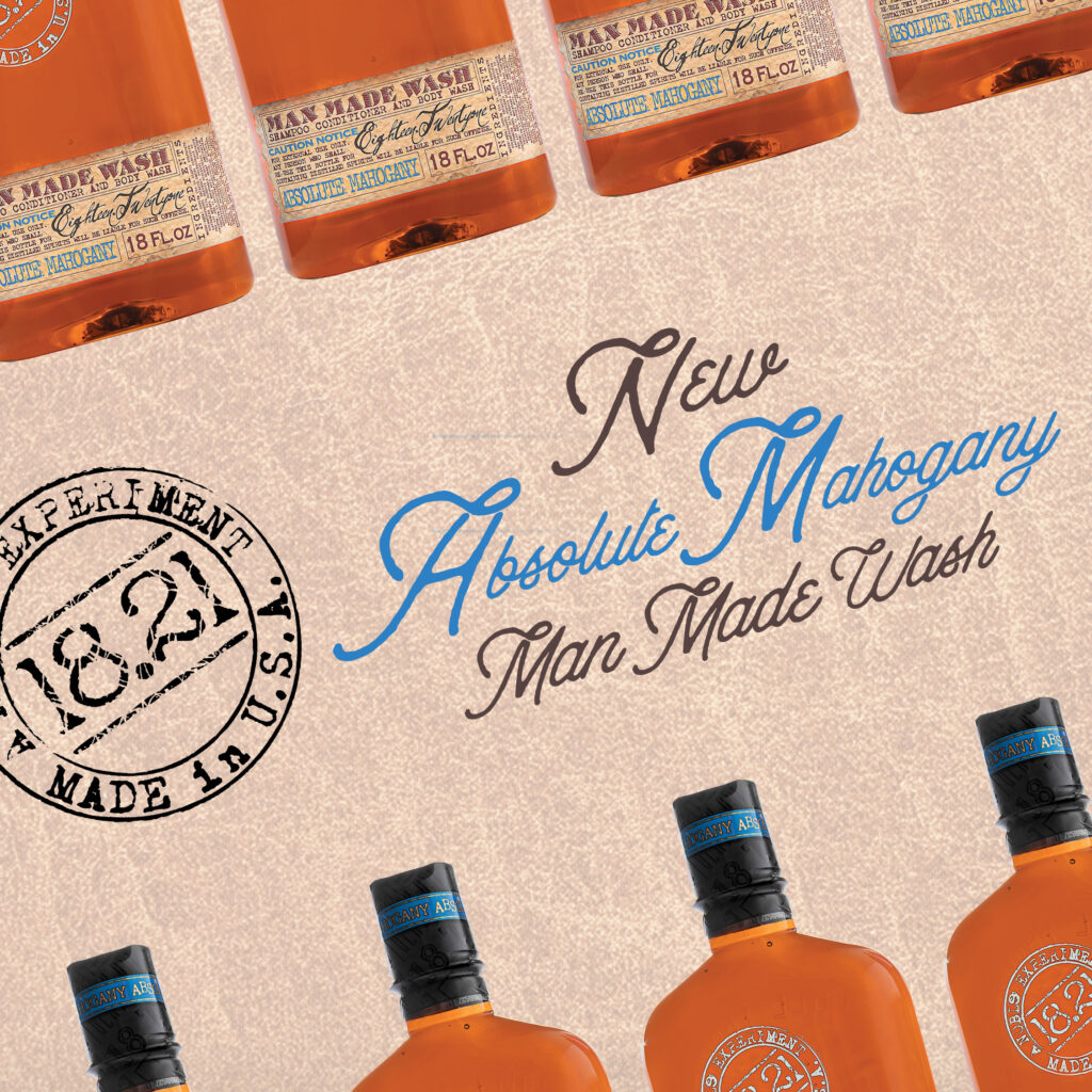 18.21 Man Made – NEW Absolute Mahogany Man Made Wash – Social