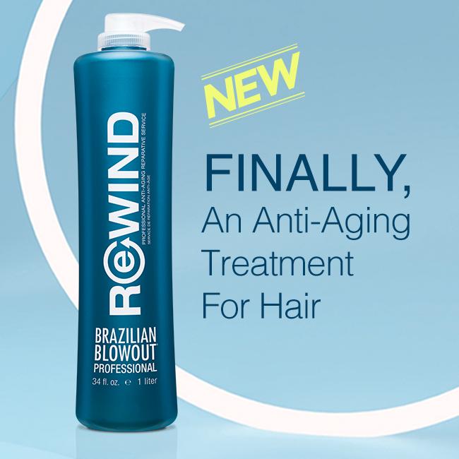 Brazilian Blowout – Rewind Anti-Aging Treatment – Social