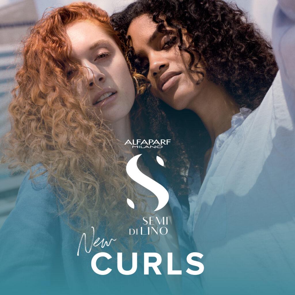Alfaparf Milano Semi Di Lino – NEW Curls Collection – Social