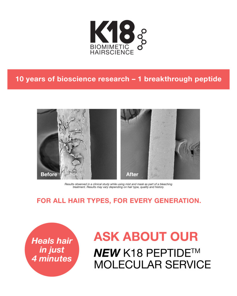 K18 – Ask About Peptide Service – Print 8×10