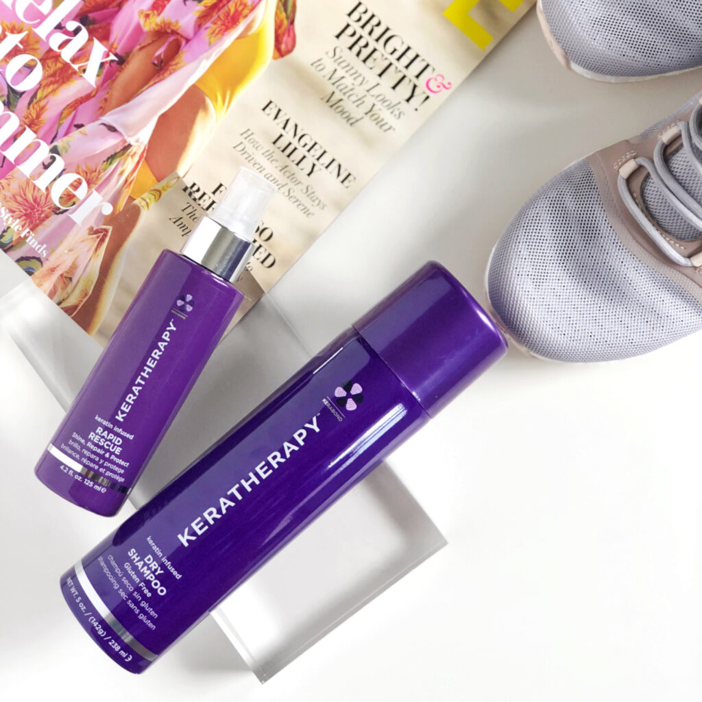 Keratherapy – Rapid Rescue and Dry Shampoo – Social