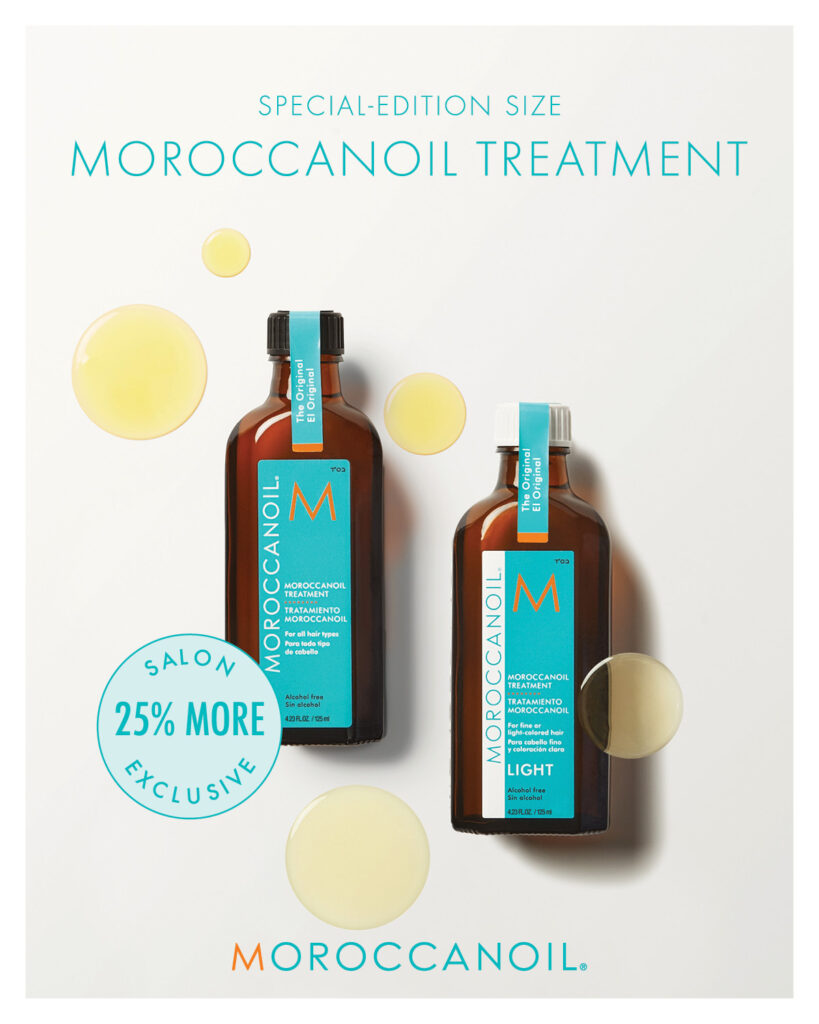 Moroccanoil – Special Edition Size Treatment – Print 8×10