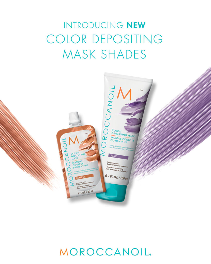 Moroccanoil – New Color Depositing Mask Shades – Print 8×10