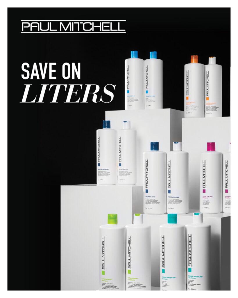 Paul Mitchell – Liter Savings – Print 8×10