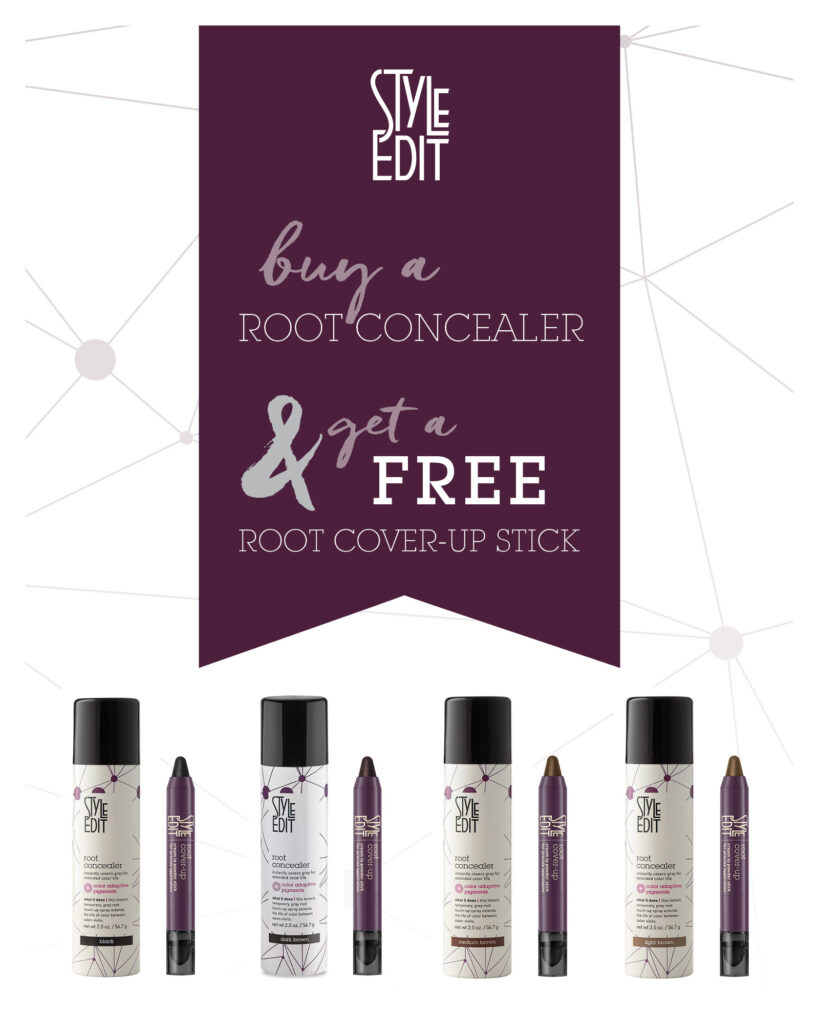 Style Edit – Root Concealer & Cover Up Stick – Print 8×10