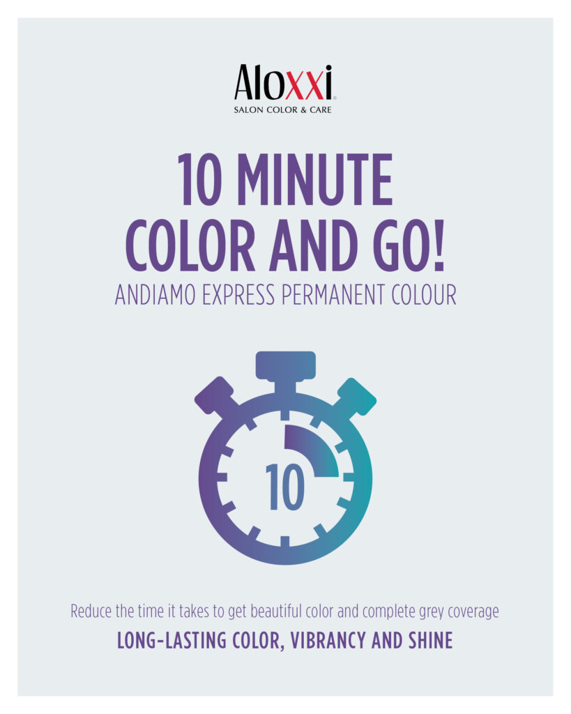 Aloxxi – 10 Minute Color And Go – Print 8×10