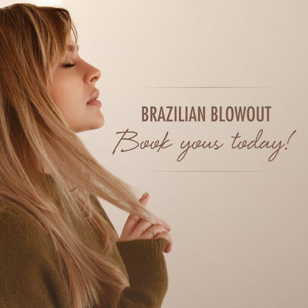 Brazilain Blowout – Book Today – Social
