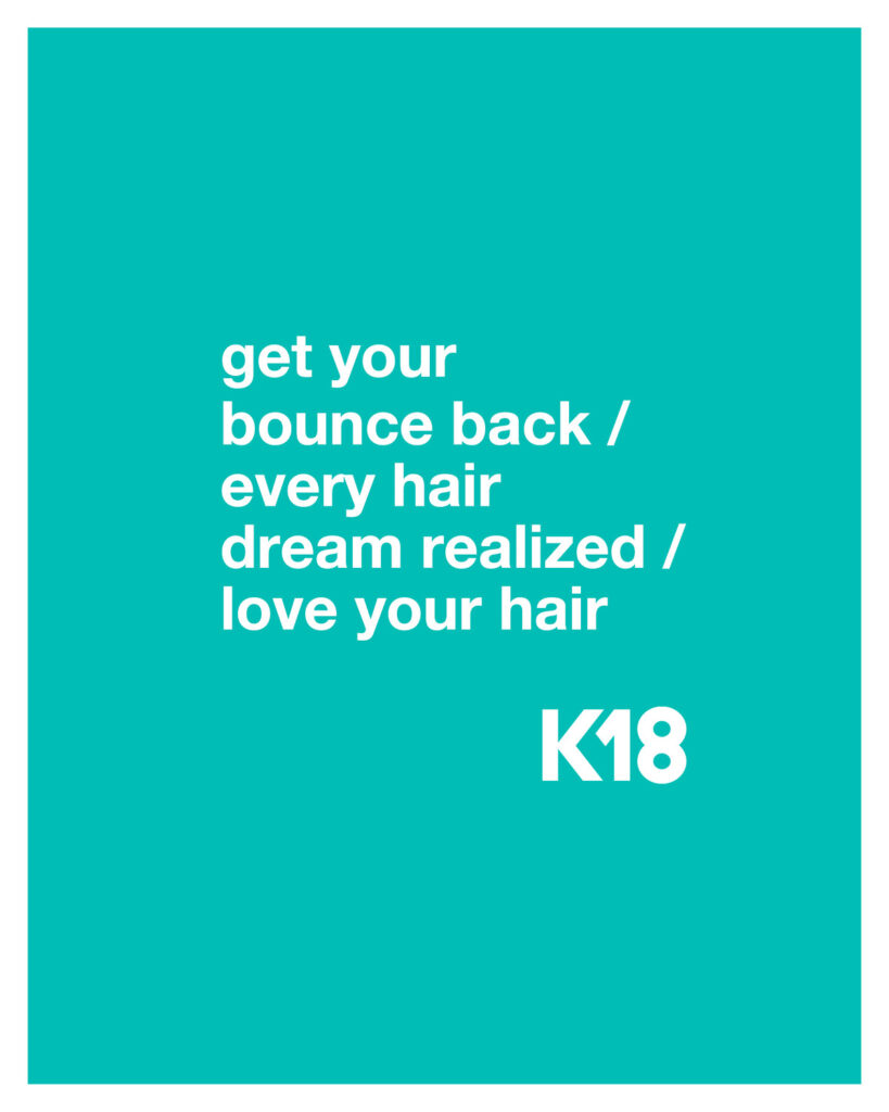 K18 – Get your Bounce Back – Print 8×10