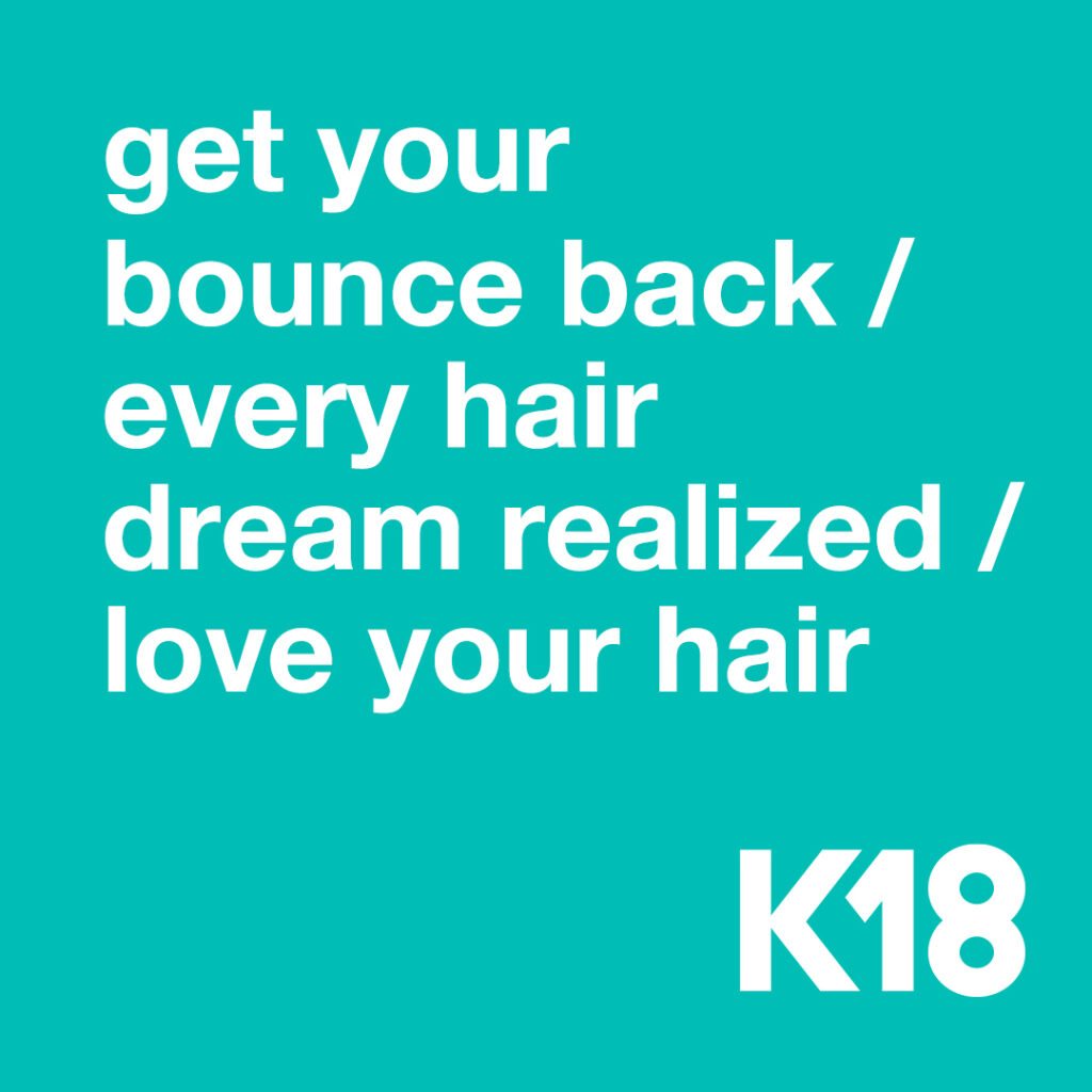 K18 – Get Your Bounce Back – Social
