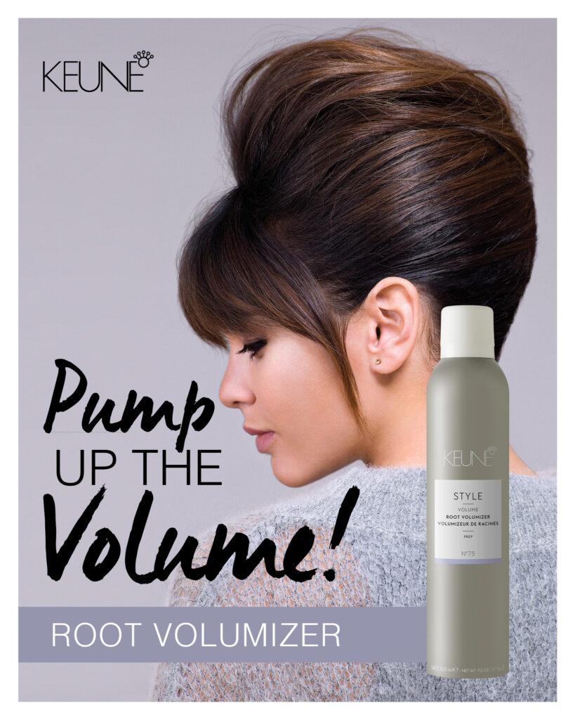 Keune – Pump Up The Volume – Print 8×10