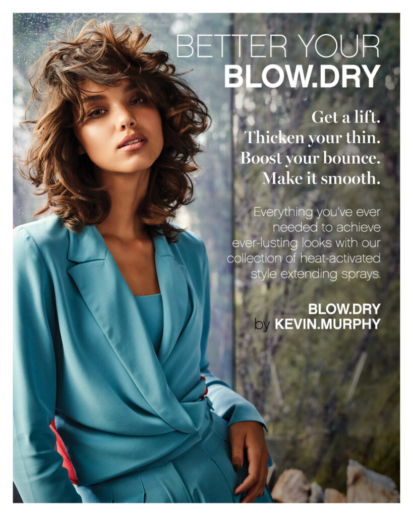 KEVIN.MURPHY – Better Your BLOW.DRY – Print 8×10
