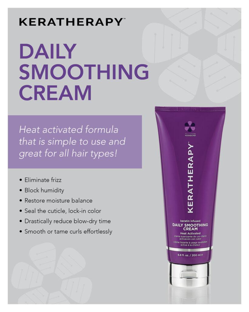 Keratherapy – Daily Smoothing Cream – Print 8×10