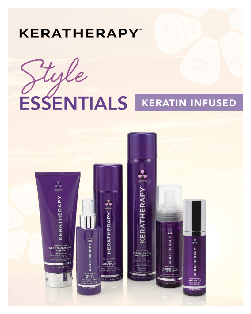 Keratherapy – Keratin Infused Style Essentials – Print 8×10