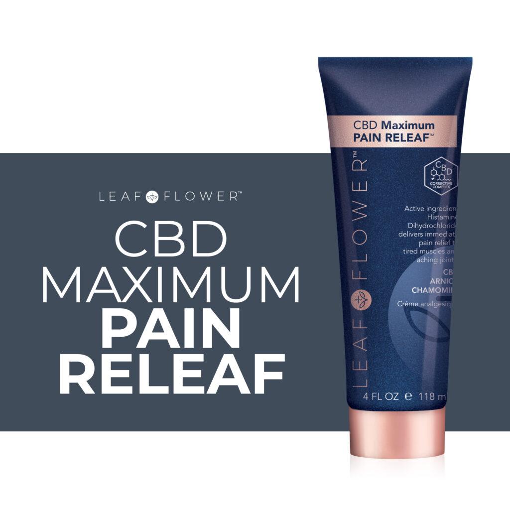Leaf & Flower – CBD Maximum Pain RELEAF – Social