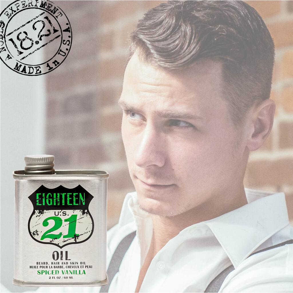 18.21 Man Made – Spiced Vanilla Oil – Social
