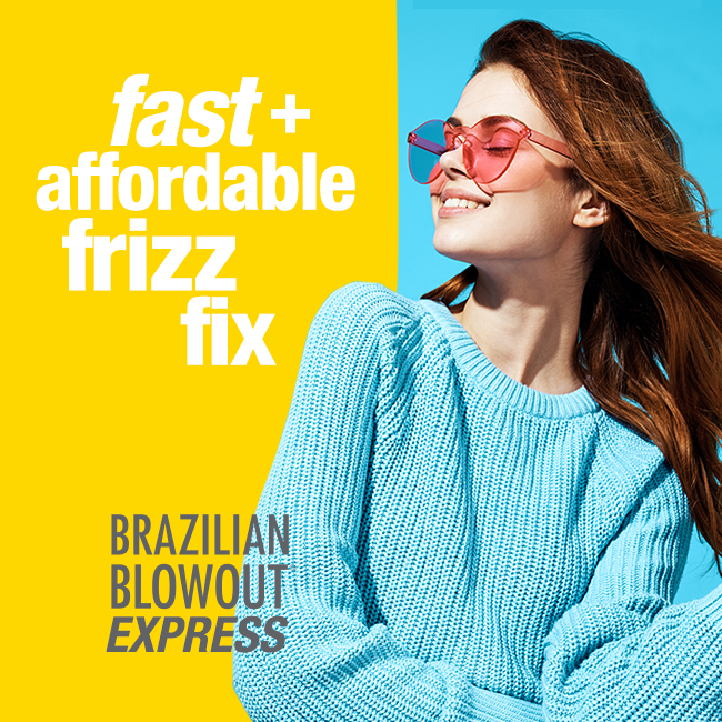 Brazilian Blowout – Fast and Affordable Frizz Fix – Social
