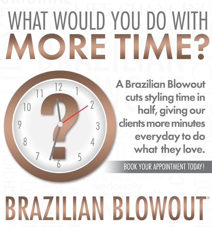 Brazilian Blowout – Give Your Clients MORE TIME – Social