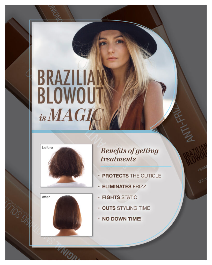 Brazilian Blowout – Before and After – Print 8.5×11″